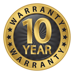 10 Year Warranty Available Roofing